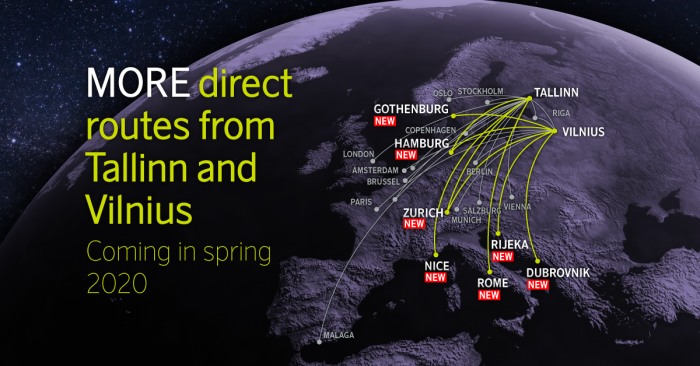 airBaltic unveils host of new destinations for summer 2020   News