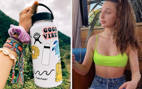 Cover Your Hydro Flask In Stickers And We'll Accurately Tell You The Year You Were Born