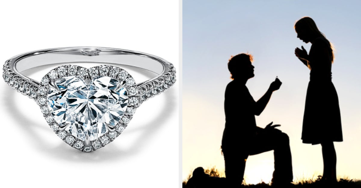 This Might Sound Kinda Weird, But We Know How Happy Your Marriage Will Be Based On The Engagement Ring You Design